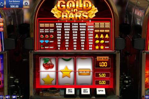 gold in bars gamesos pacanele