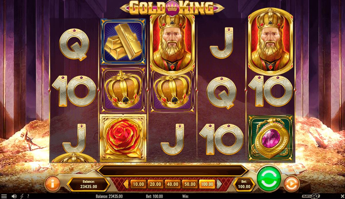 gold king playn go pacanele