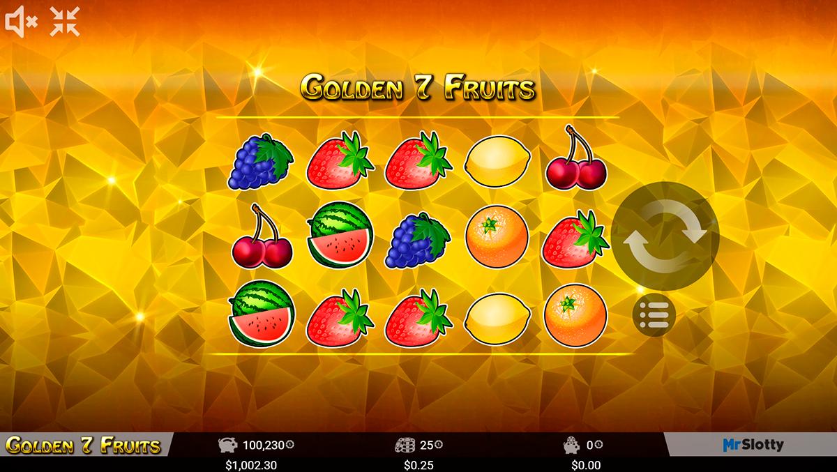 golden 7 fruits mrslotty pacanele