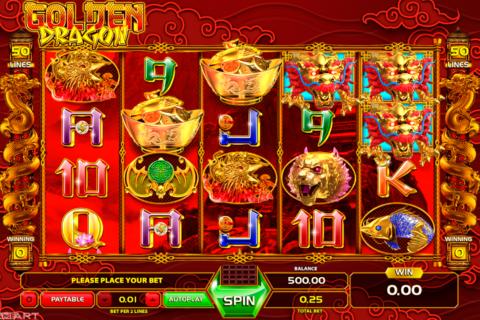 golden dragon gameart pacanele