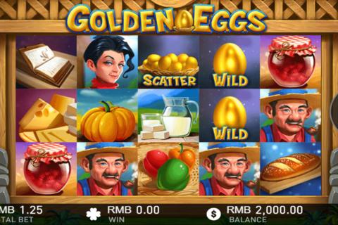 golden eggs gameplay interactive pacanele