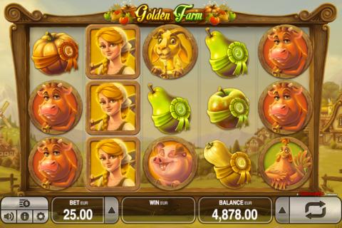 golden farm push gaming pacanele