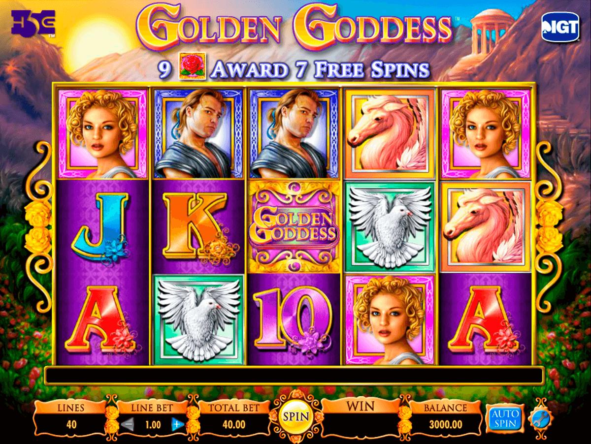 golden goddess igt pacanele