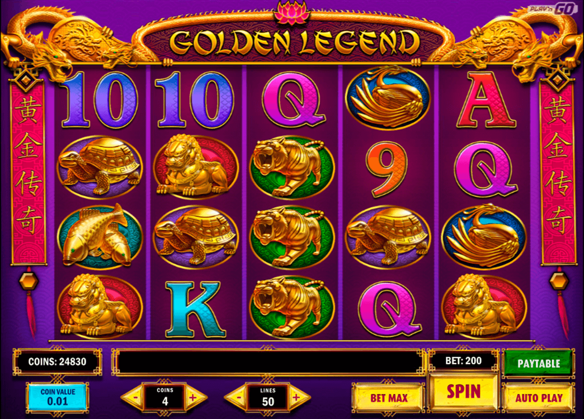 golden legend playn go pacanele