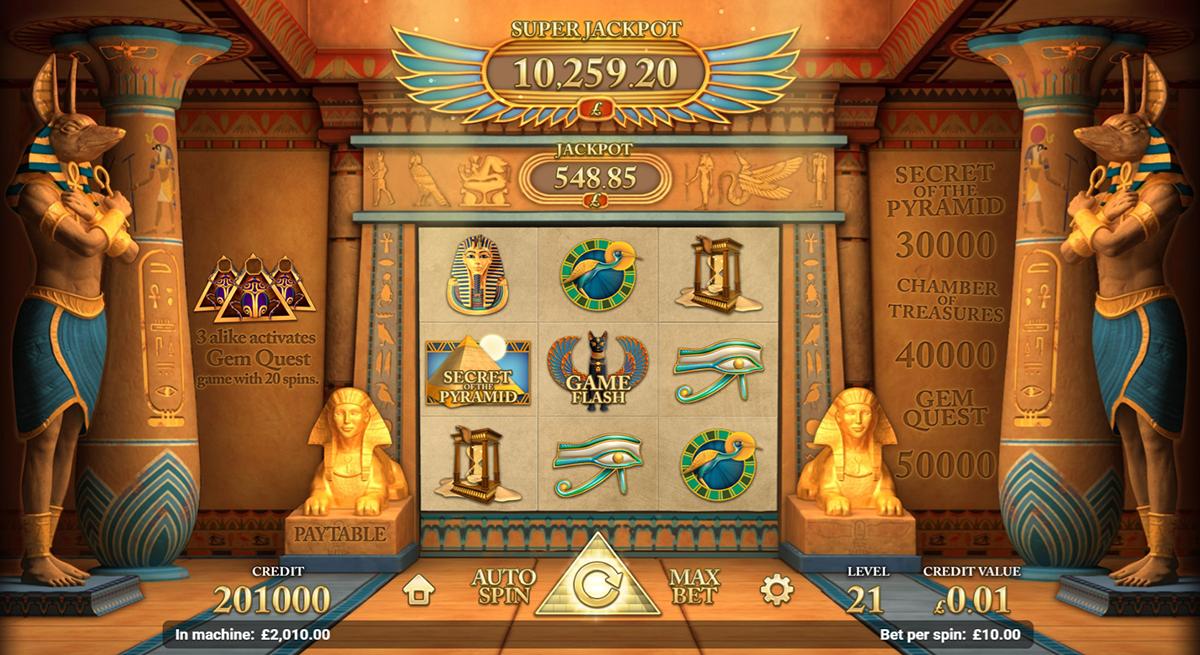 golden pyramid magnet gaming pacanele