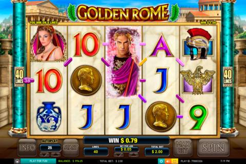 golden rome leander pacanele