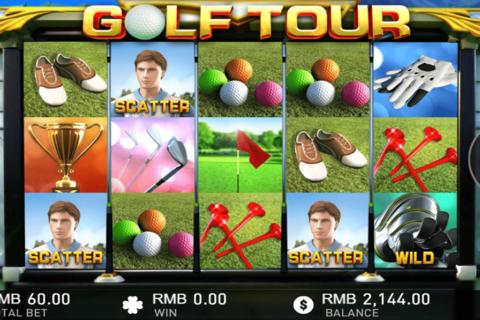 golf tour gameplay interactive pacanele