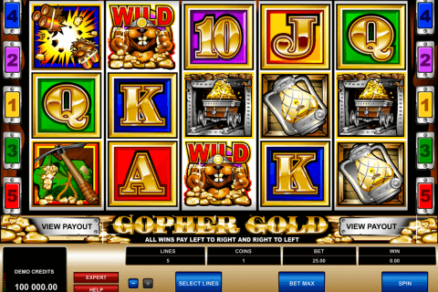 gopher gold microgaming pacanele