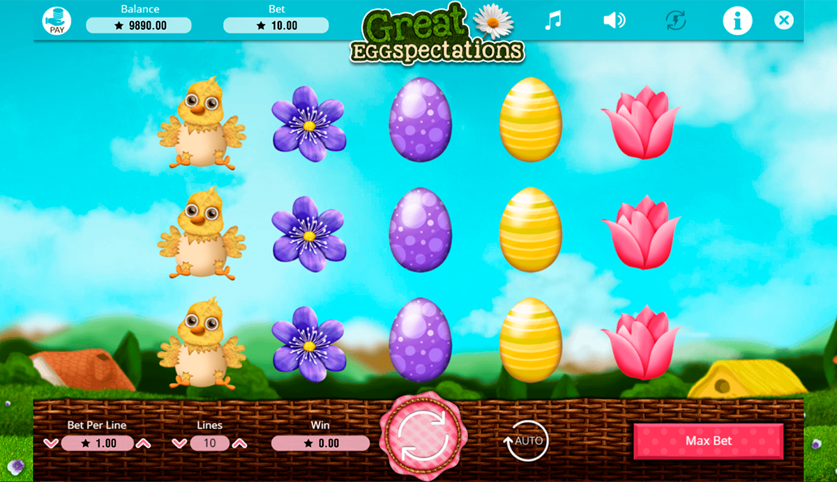 great eggspectations booming games pacanele