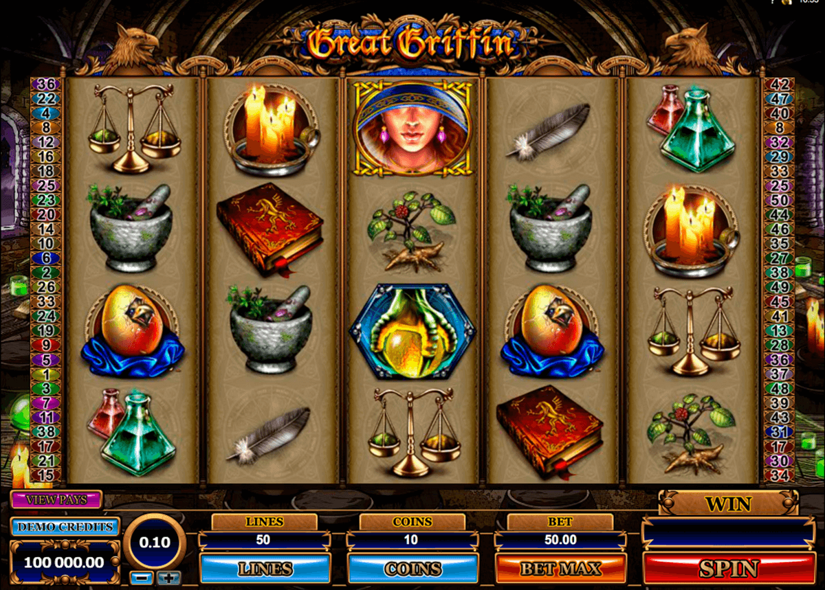 great griffin microgaming pacanele