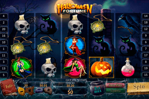 halloween fortune playtech pacanele