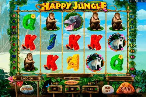 happy jungle playson pacanele