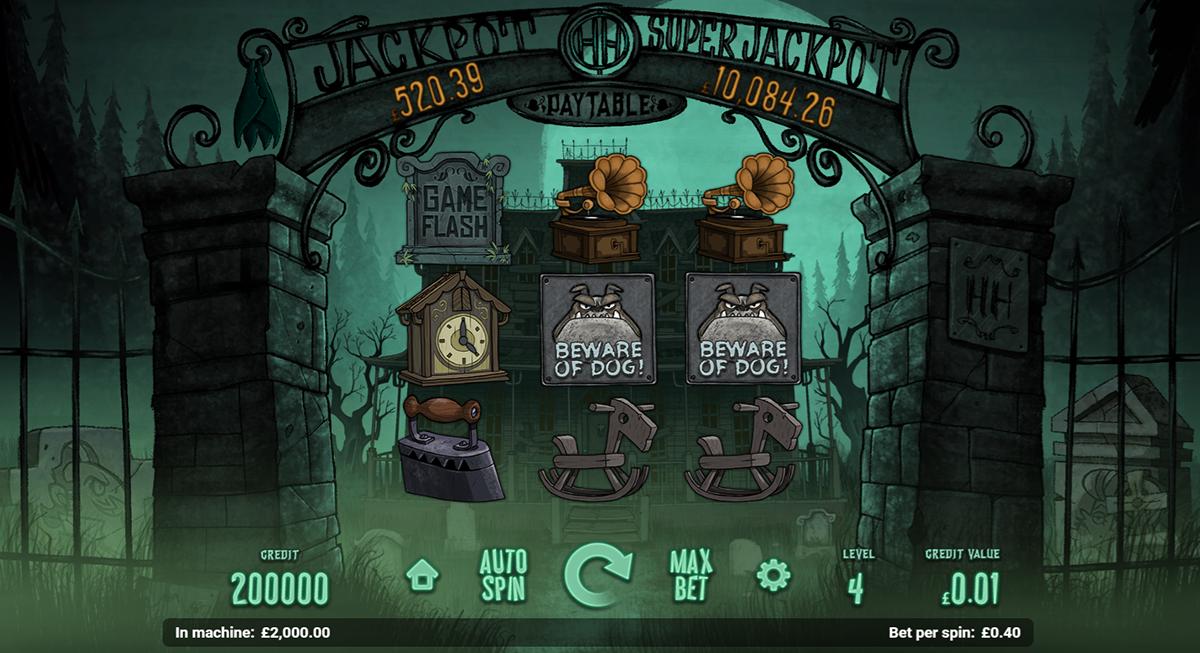 haunted house magnet gaming pacanele