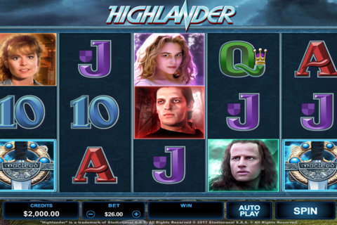 highlander microgaming pacanele