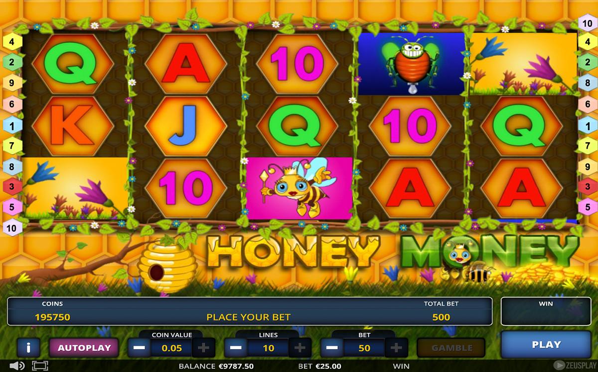 honey money zeus play pacanele
