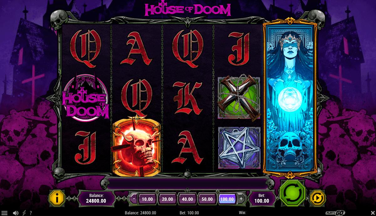 house of doom playn go pacanele