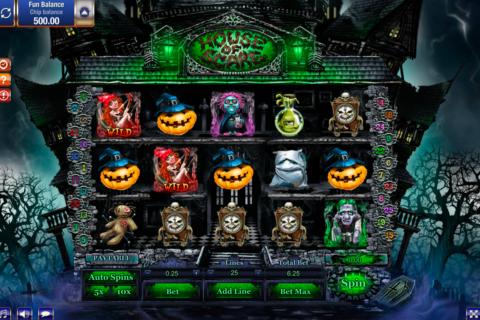 house of scare gamesos pacanele