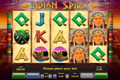 indian spirit novomatic pacanele