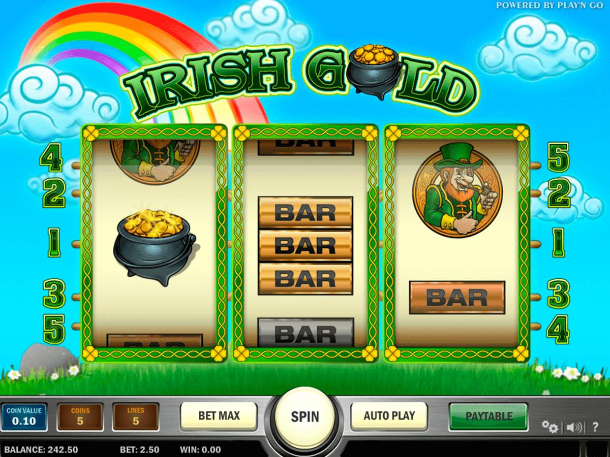 irish gold playn go pacanele