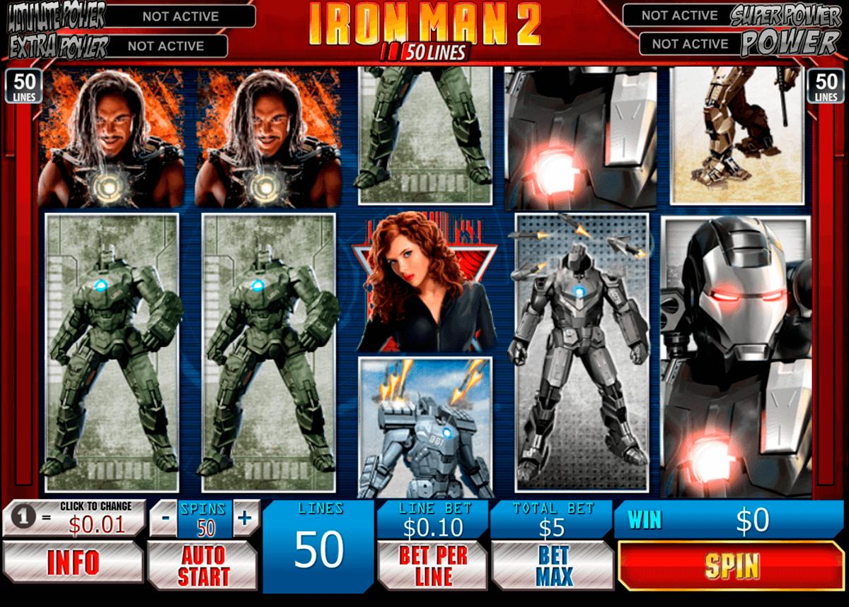 iron man 2 50 lines playtech pacanele
