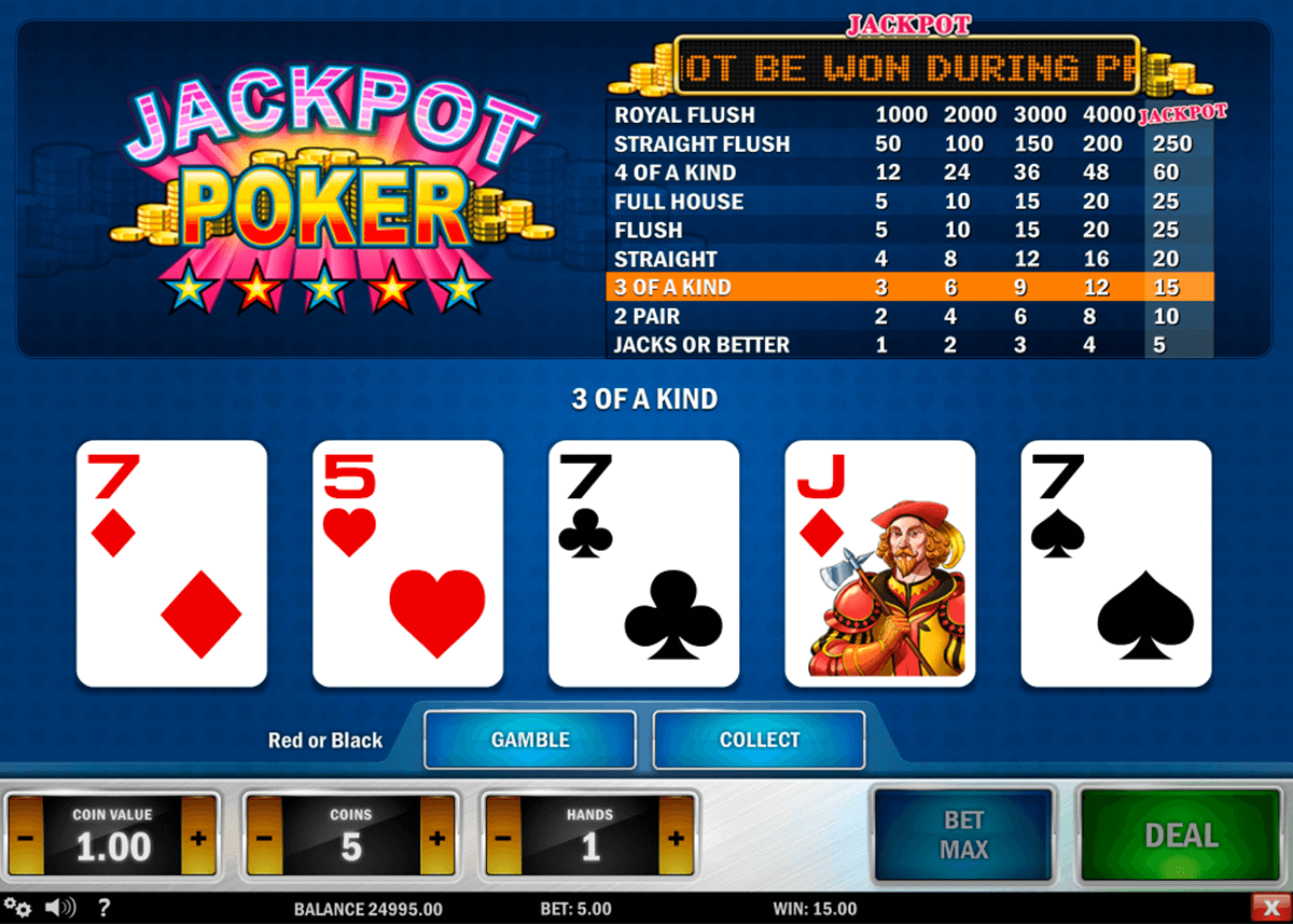 jackpot poker playn go poker aparate