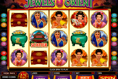 jewels of the orient microgaming pacanele