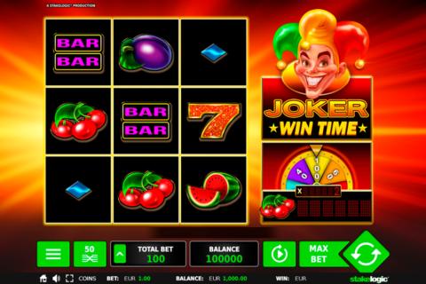 joker wintime stake logic pacanele