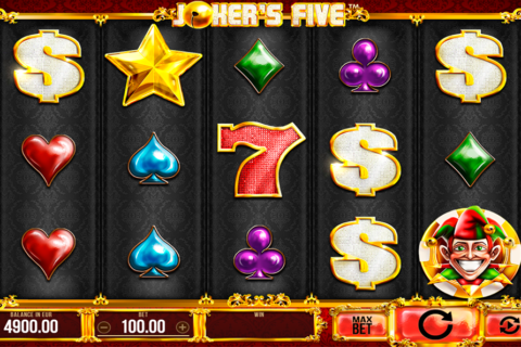 jokers five synot games pacanele