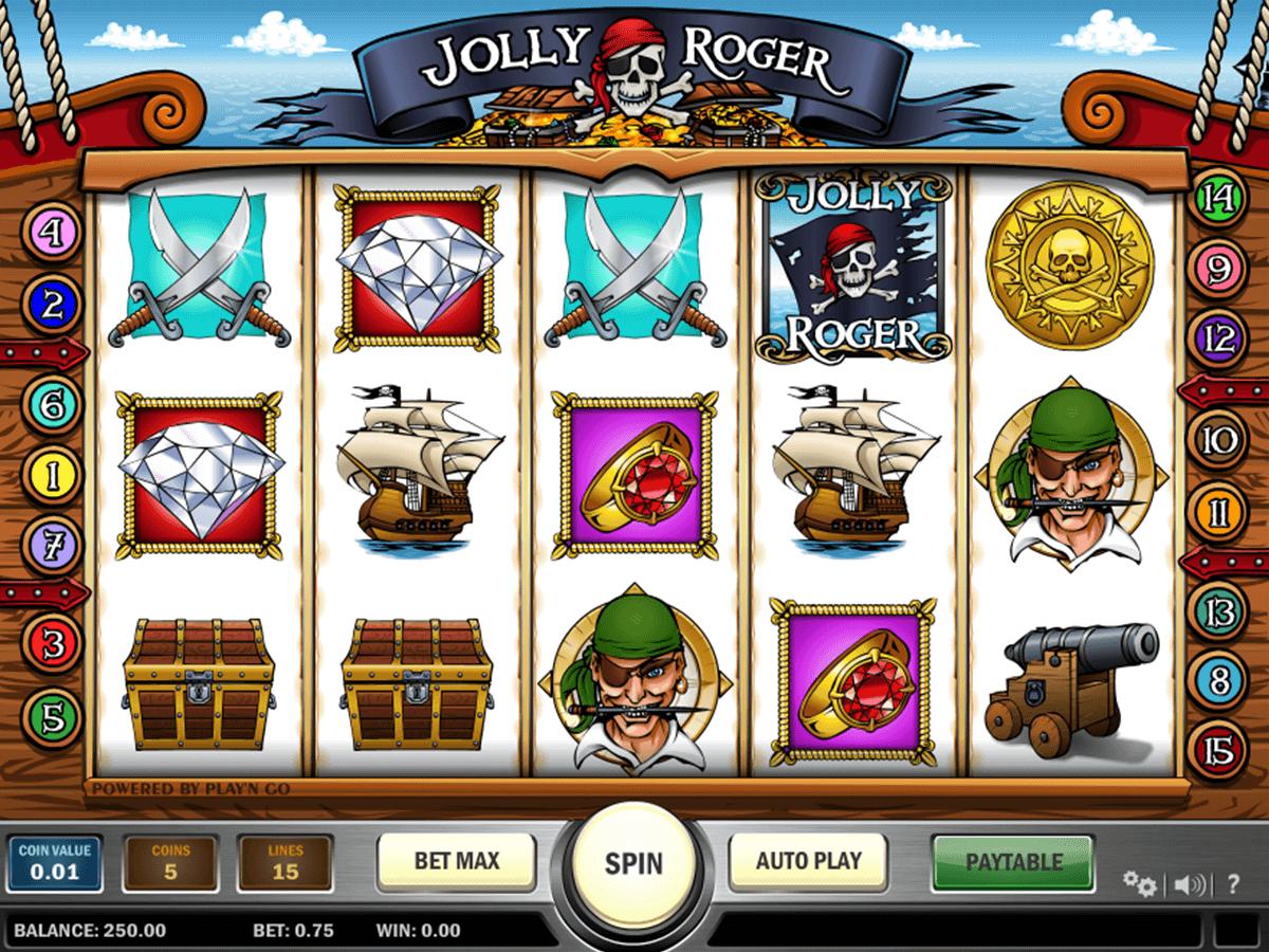 jolly roger playn go pacanele