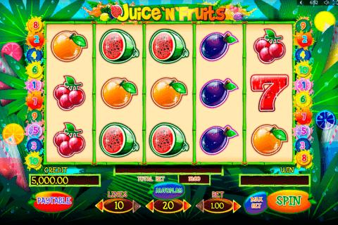 juicenfruits playson pacanele