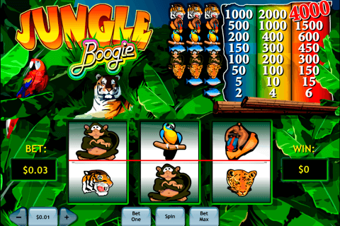 jungle boogie playtech pacanele