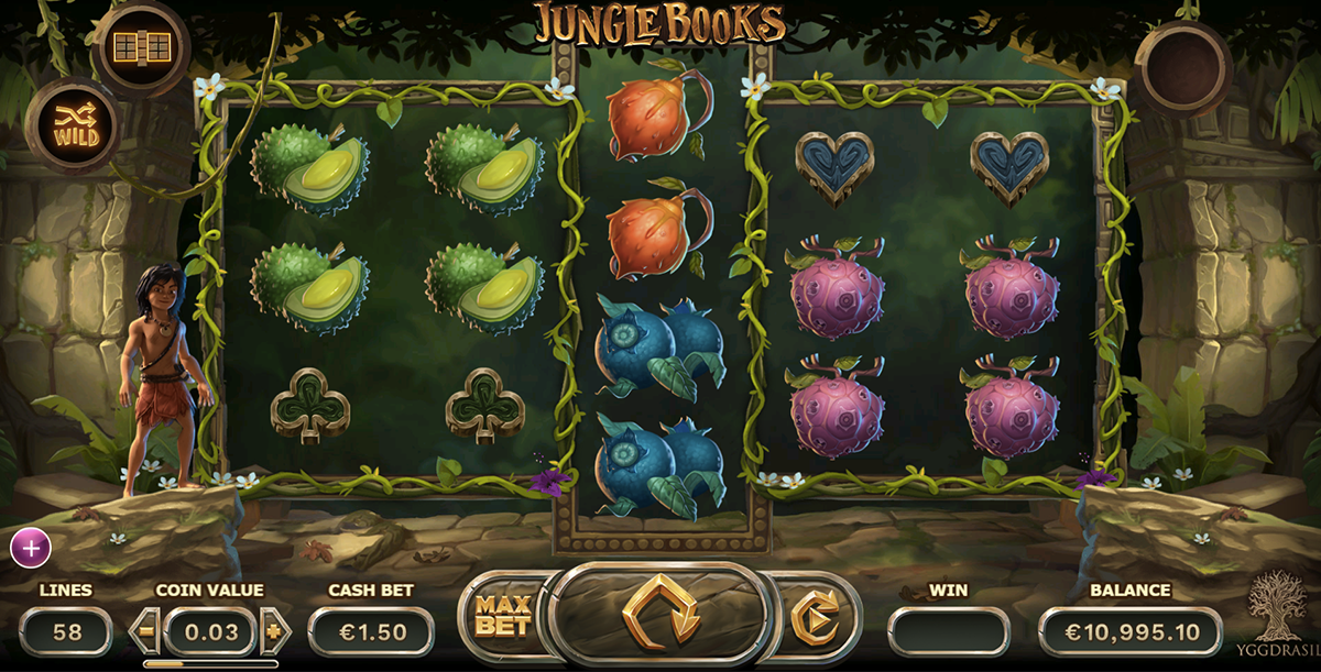 jungle books yggdrasil pacanele