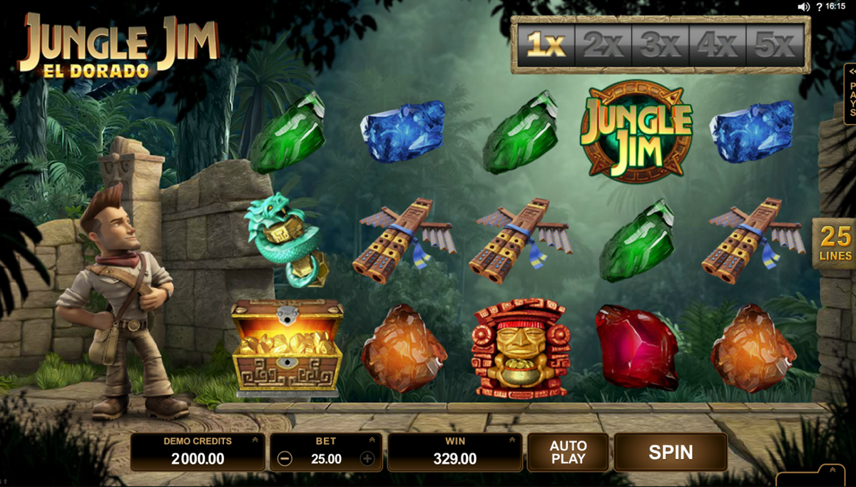 jungle jim el dorado microgaming pacanele