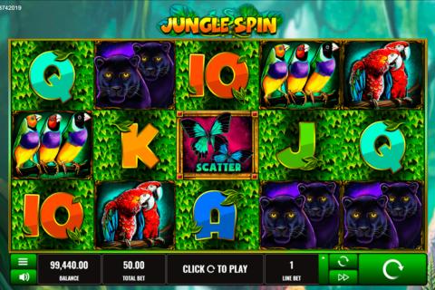 jungle spin platipus pacanele