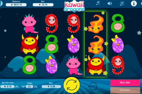 kawaii dragons booming games pacanele