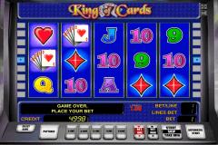 king of cards novomatic pacanele
