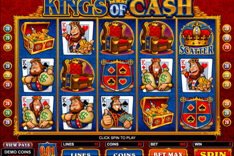 kings of cash microgaming pacanele
