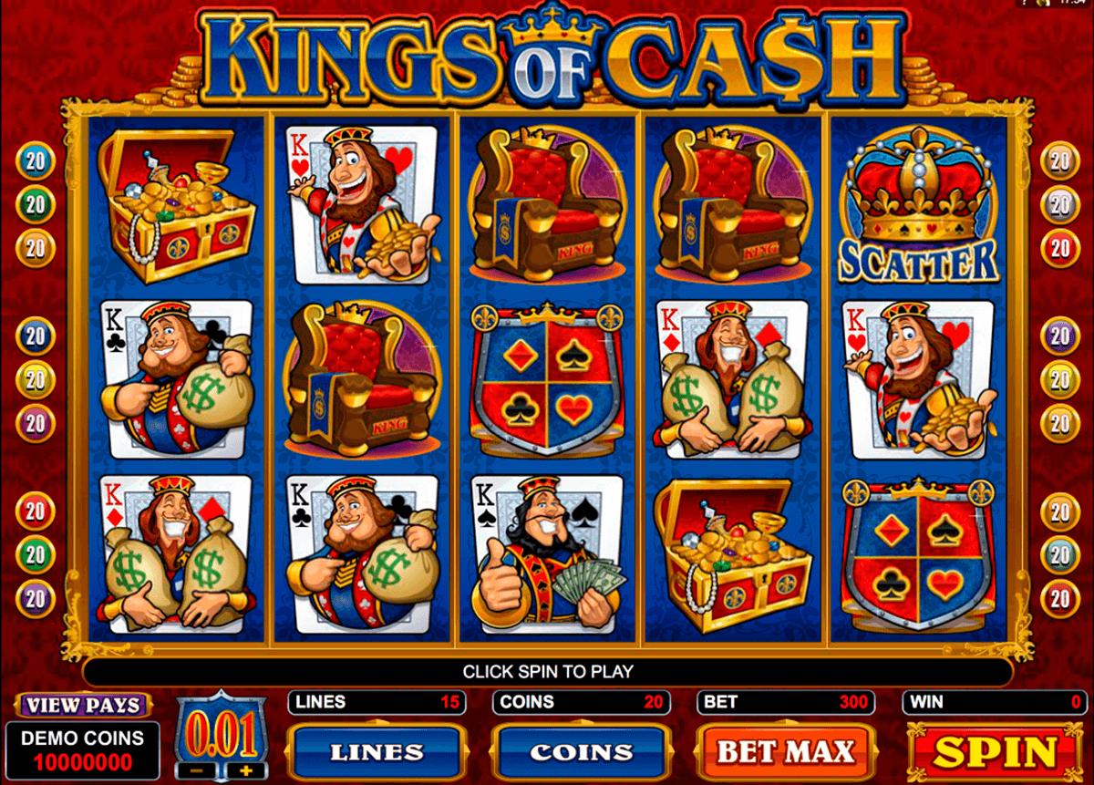 kings of cash microgaming pacanele
