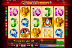 kings treasure novomatic pacanele