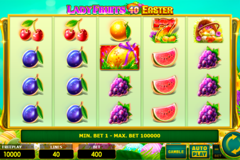 lady fruits  easter amatic pacanele