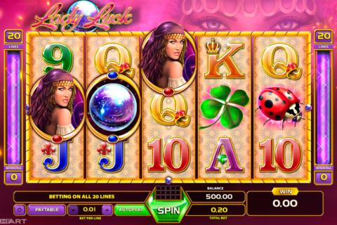 lady luck gameart pacanele
