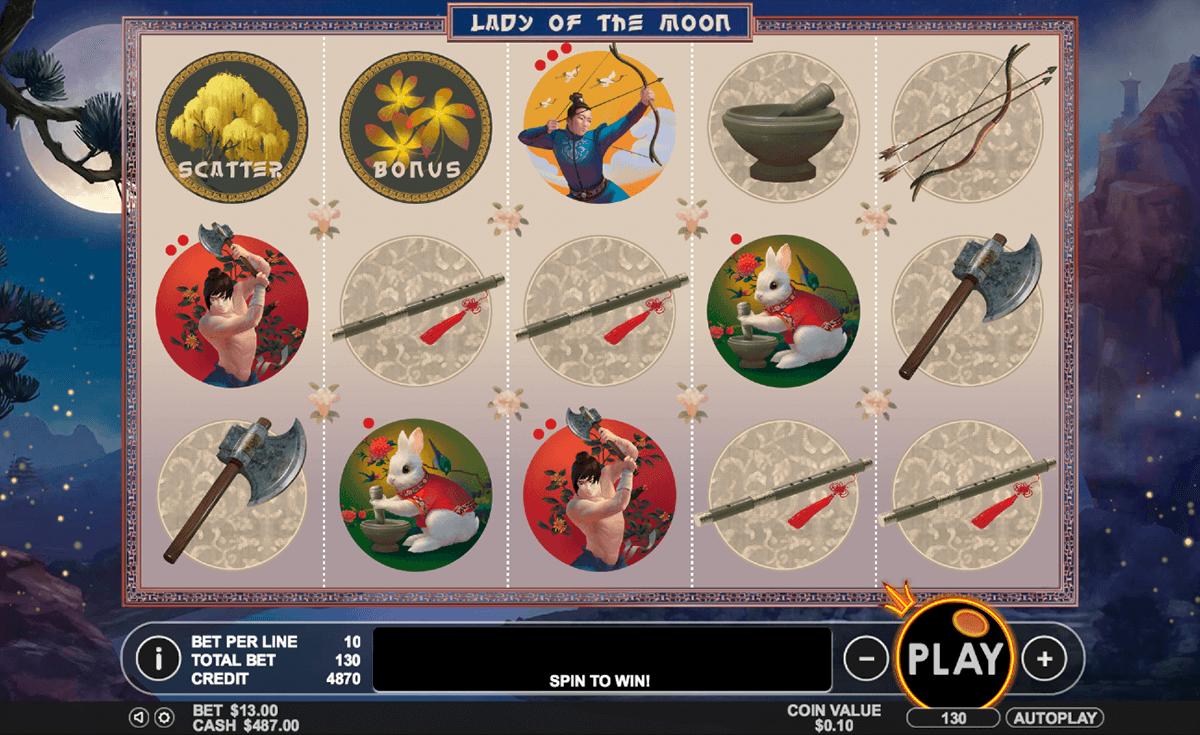 lady of the moon pragmatic pacanele