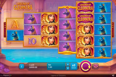 legend of cleopatra playson pacanele