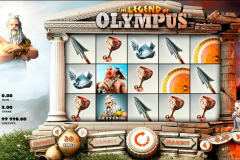 legend of olympus rabcat pacanele