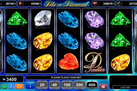 like a diamond egt pacanele