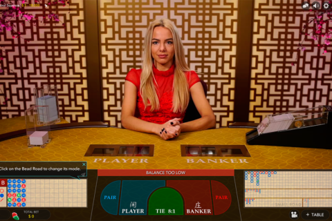 live baccarat control squeeze evolution gaming