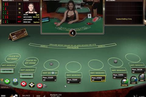 live blackjack microgaming online