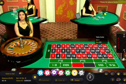 live roulette ezugi ruleta