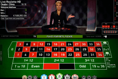 live roulette netent ruleta
