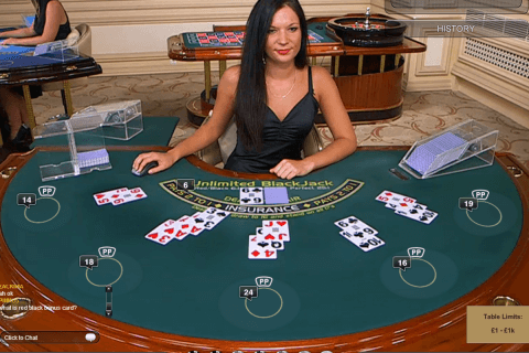 live unlimited blackjack playtech online
